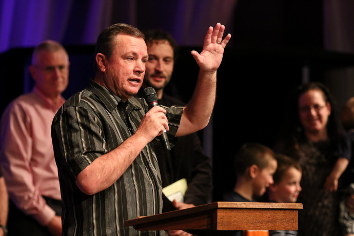 Pastor Mark Announces the Next Pastor of New Covenant Church