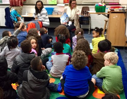 NCC Supports Literacy Event at Forrest Elementary